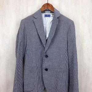 BLUE BLUE コットンテーラードジャケット 藍染