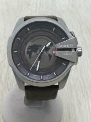 クォーツ腕時計/アナログ/GRY/DZ-4307