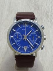 クォーツ腕時計/アナログ/BLU/MBM5066