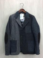 テーラードジャケット/M/ウール/GRY