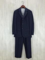 スーツ/--/ウール/NVY/ストライプ