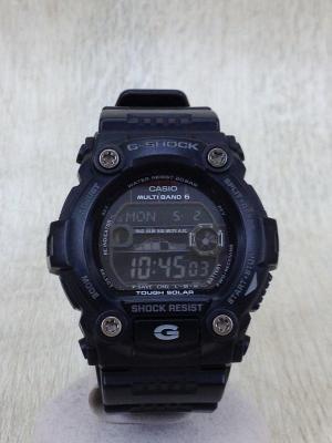 腕時計/電波ソーラー/デジタル/ラウンド