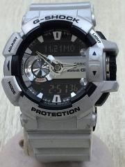 クォーツ腕時計/デジアナ/Bluetooth/ベルト変色有