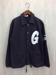 ジャケット/L/コットン/GRY