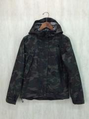 ジャケット/M/ナイロン/KHK/カモフラ/Novelty Scoop Jacket