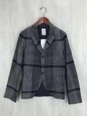 テーラードジャケット/1/コットン/GRY