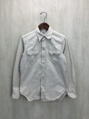 ウエスタンシャツ/600RANCH/14/--/コットン/IVO