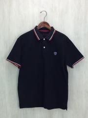 ポロシャツ/4/コットン/黒