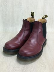 ブーツ/UK5/BRD/サイドゴア