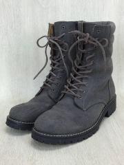ブーツ/27cm/GRY/フェイクレザー