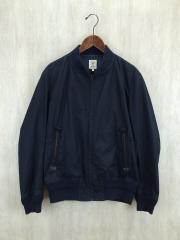 ジャケット/38/コットン/NVY
